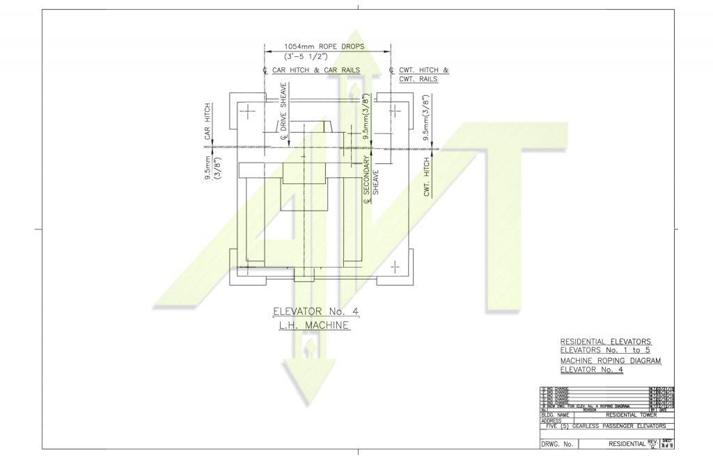 gearless elevator supply company
