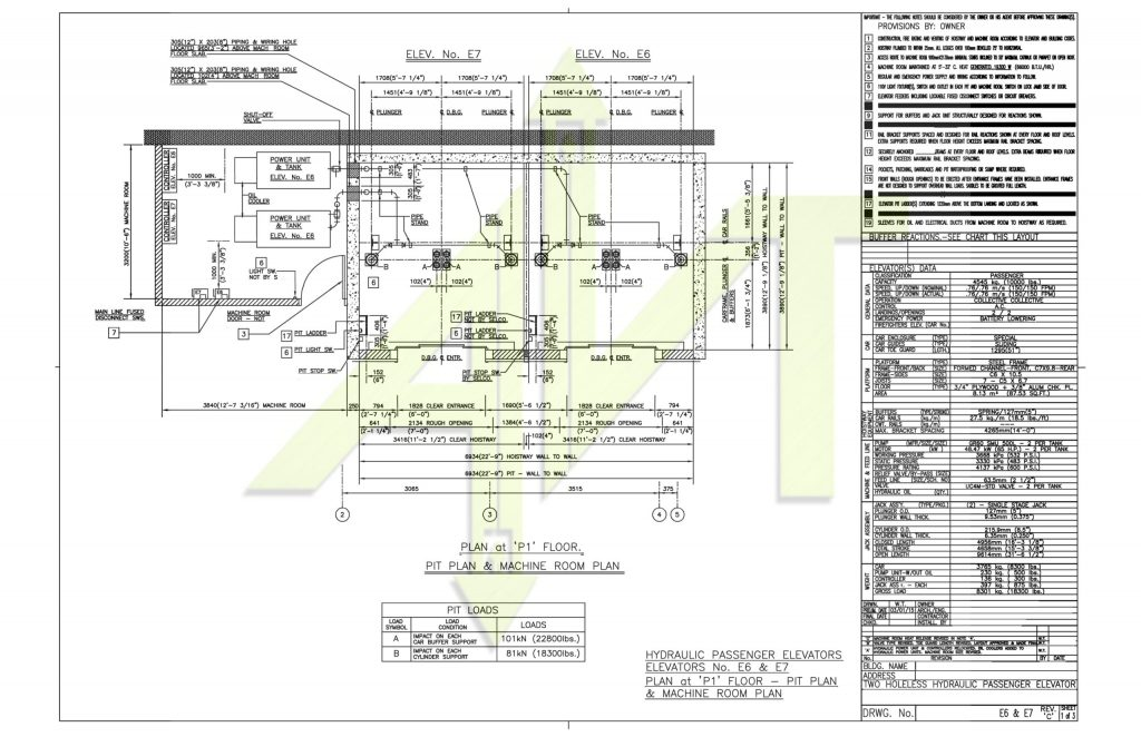 hydraulic elevator supply company