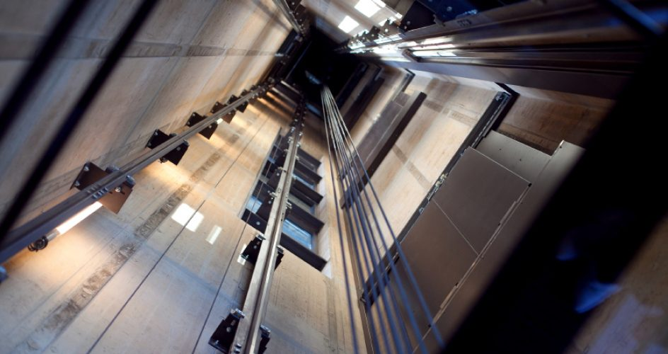 elevator shaft from manufacturer view